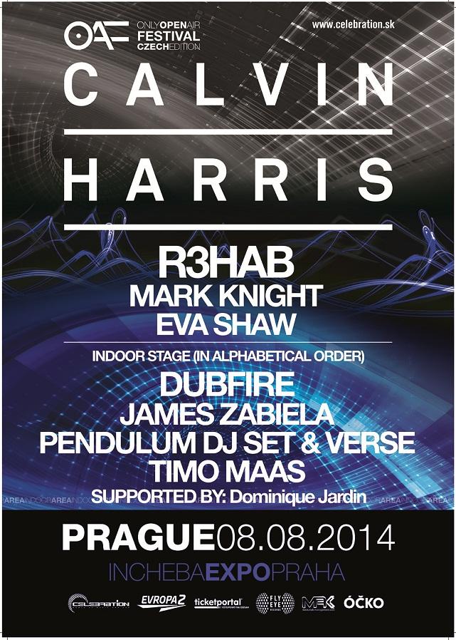 Calvin Harris PHA 2014