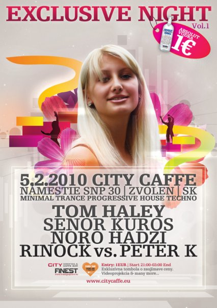 city caffe exclusive night