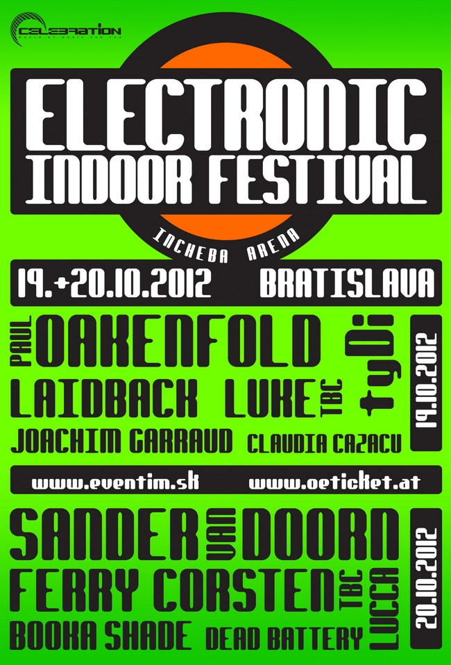 electronic music festival 19 oktober 2012 bratislava incheba