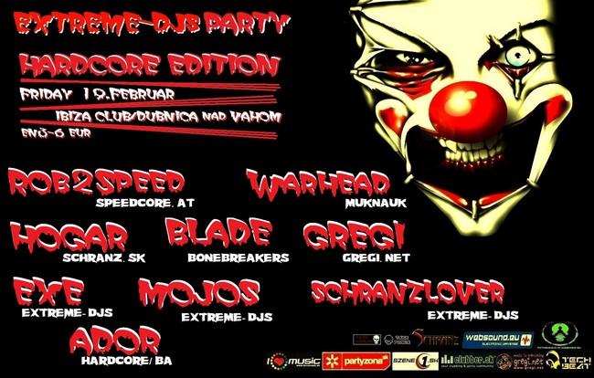 extreme djs party
