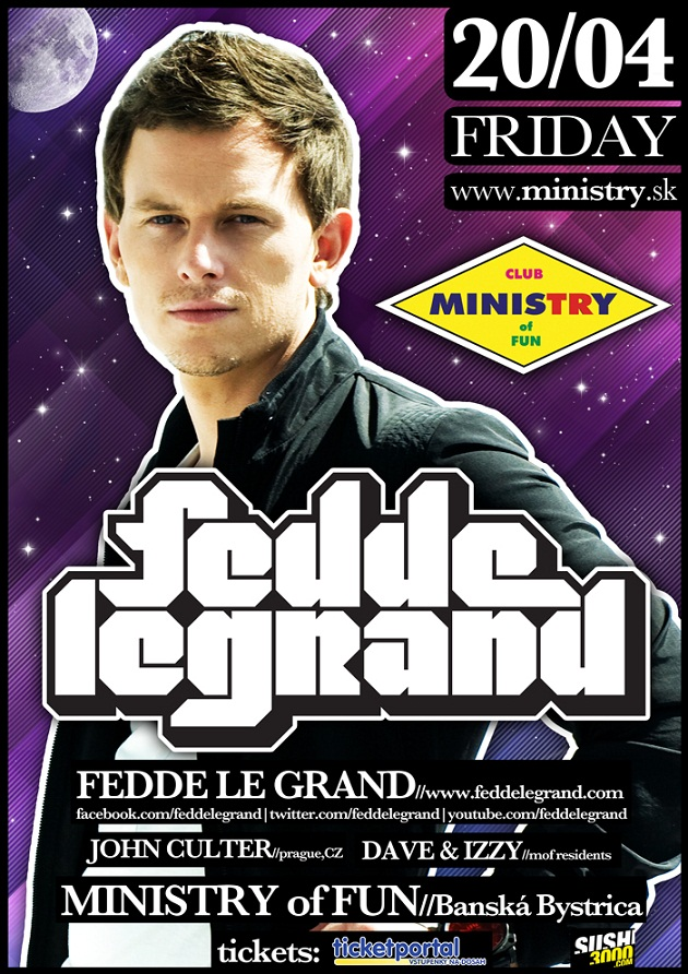 Fedde Le Grand Ministry of Fun