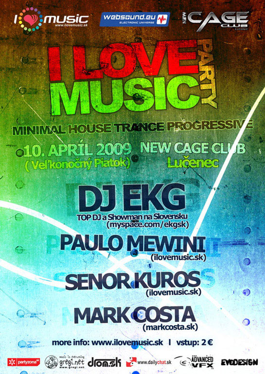 ilovemusic party