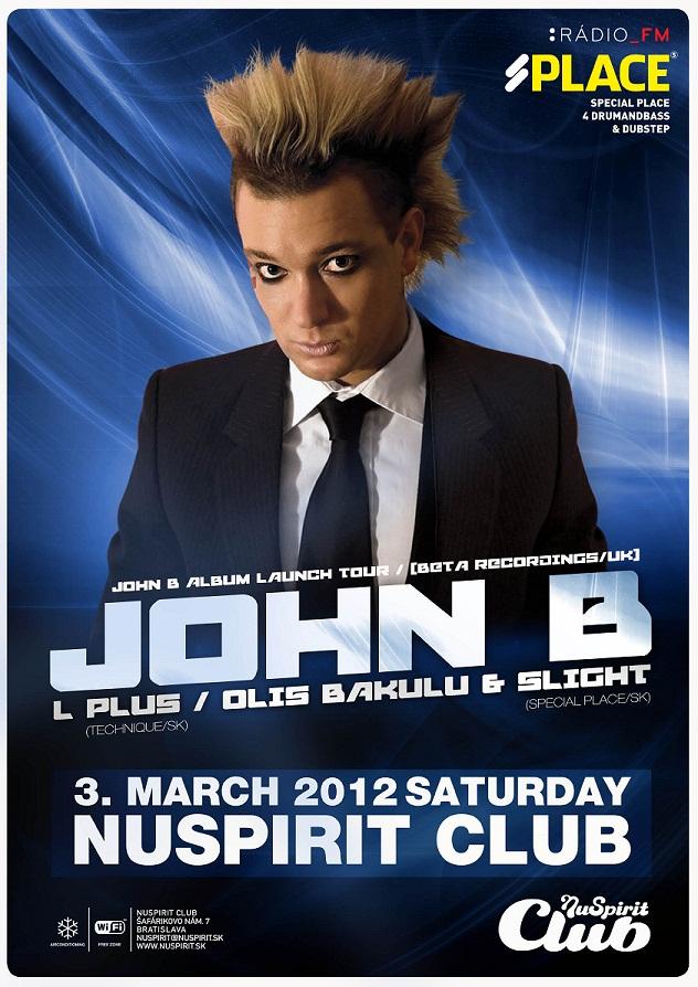 John B poster