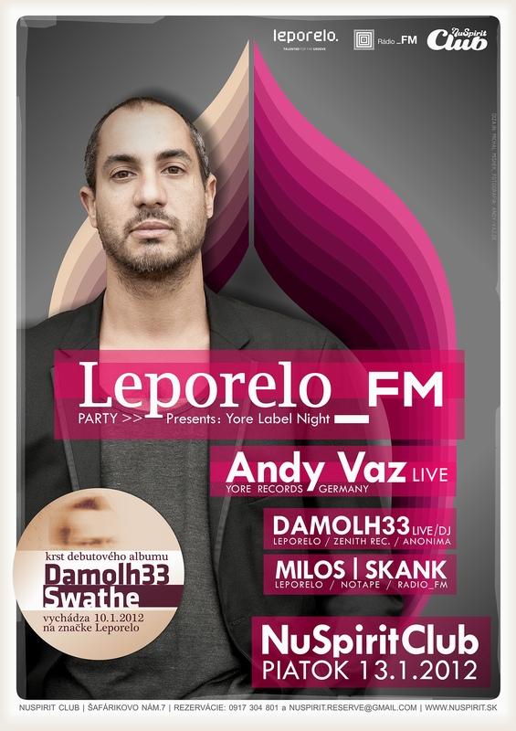 Leporelo FM party