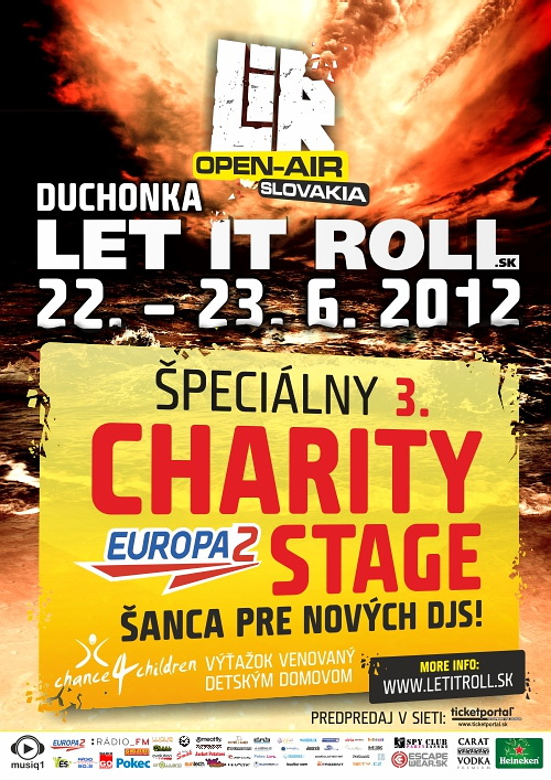 LIR2012 Charity Stage