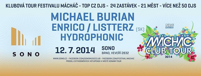 Machac ClubingTour 2014
