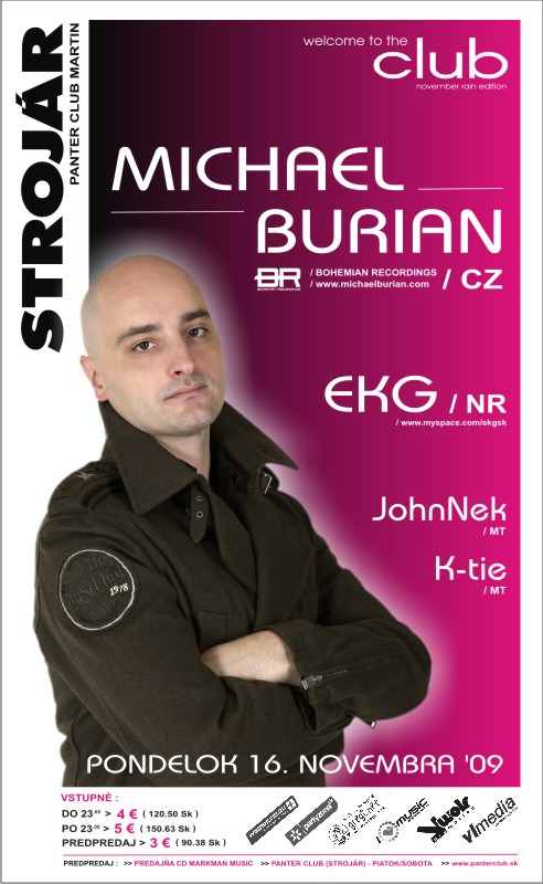michal burian - welcome to club