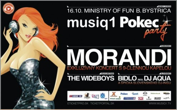 musiq 1 pokec party