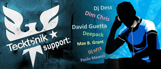 tecktonik support djs