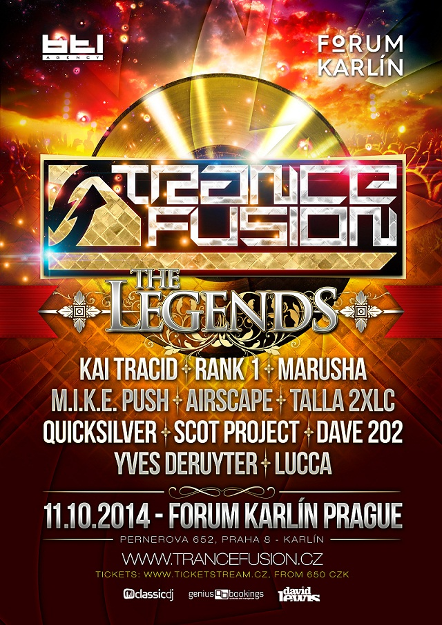 TranceFusion The Legends 2014