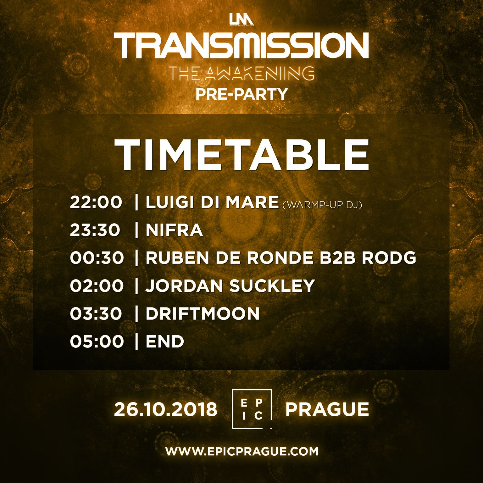 timetablepreparty