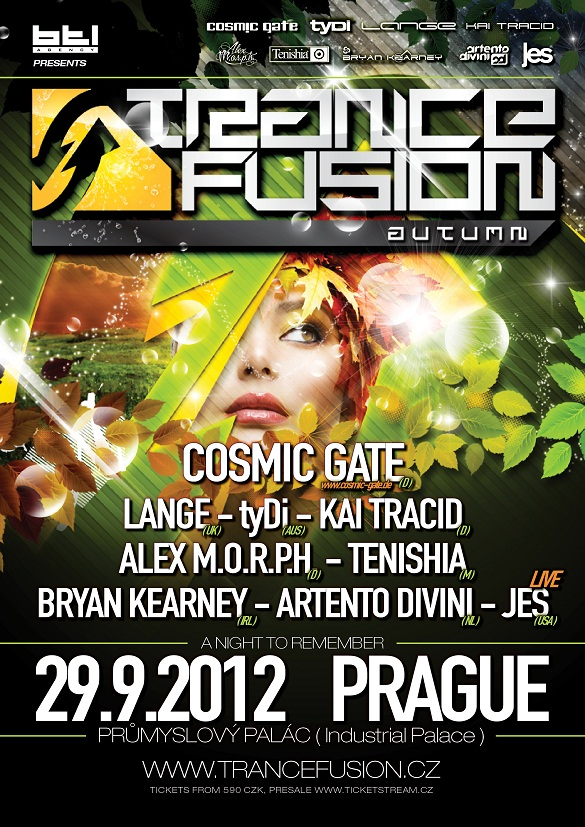 TranceFusion Autumn 2012