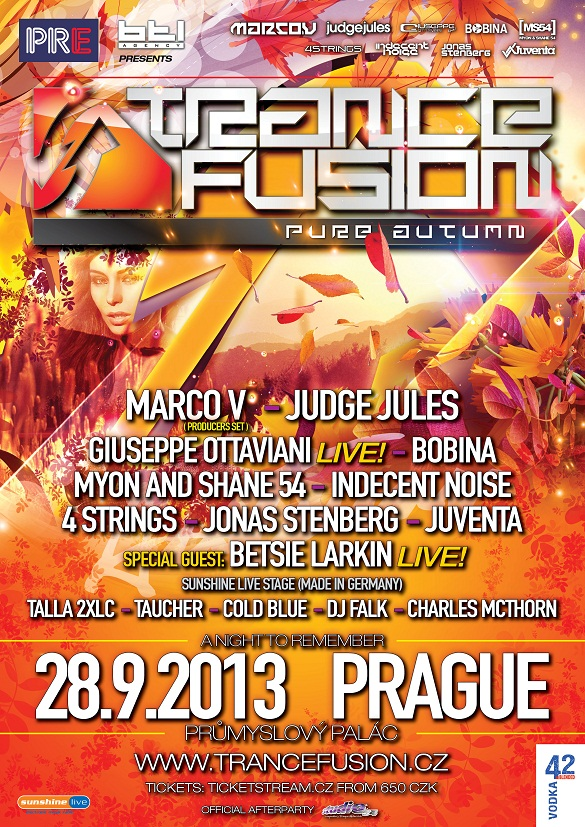 TranceFusion Autumn 2013