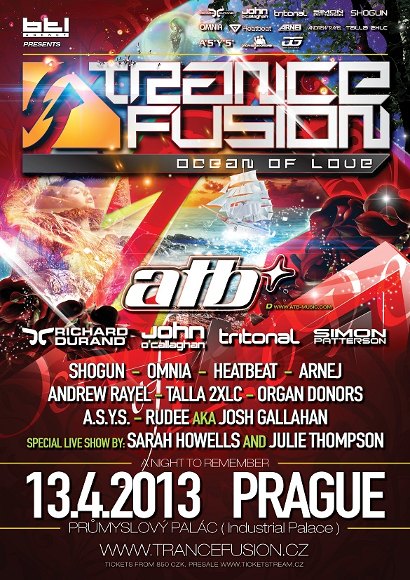 TranceFusion Ocean of Love