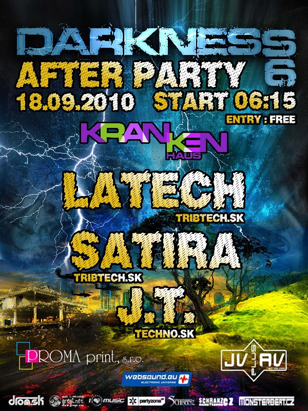 Darkness6 after party