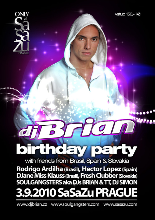 DjBrian party