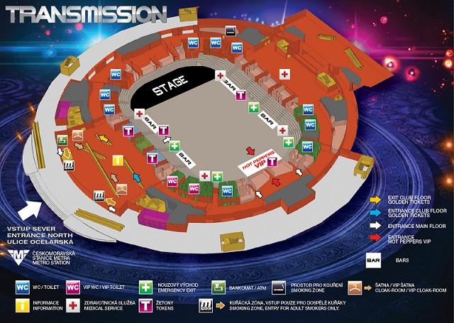 Mapa TM2013